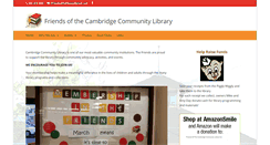 Preview of cambridgelibraryfriends.org