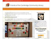 Tablet Preview of cambridgelibraryfriends.org